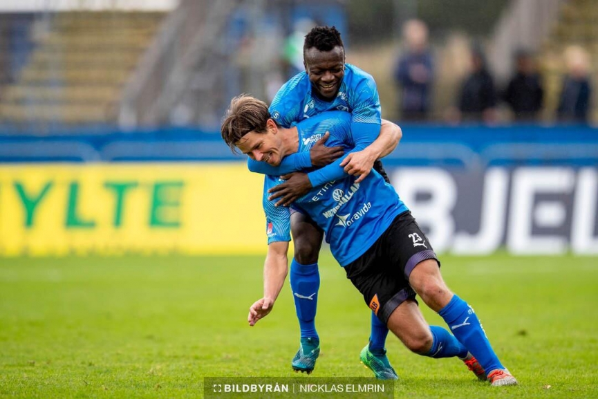 Thomas Boakye registers double assists in Halmstad BK dramatic win