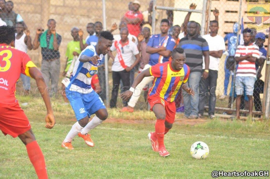 MATCH REPORT: Young Wise 0-1 Hearts of Oak - Esso sends Hearts to FA Cup Round of 32