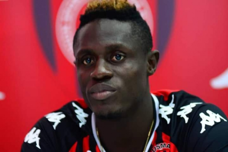Your support and prayers will make me succeed here - Kwame Opoku tells USM Alger fans
