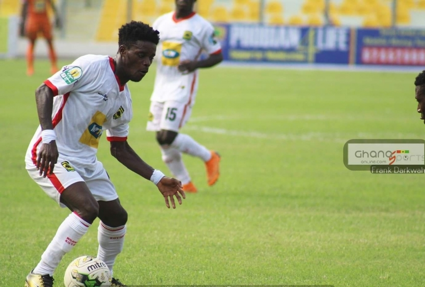 BREAKING: Great Olympics make SHOCK move to sign Kotoko's Kwame Boahene
