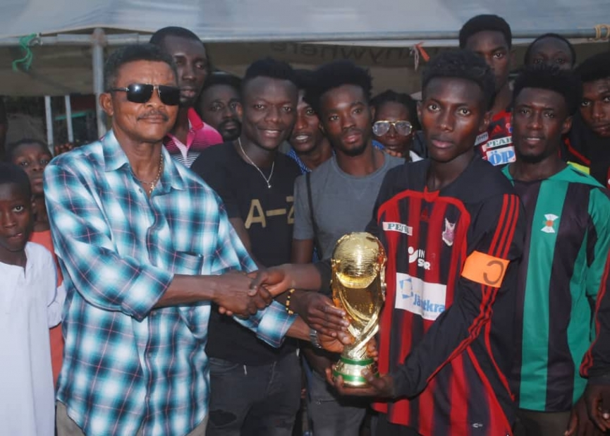 Felton Academy clinch Thomas Boakye 'Giving Back Community' tourney