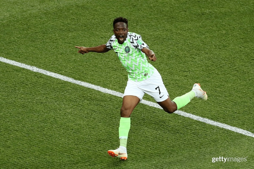 MATCH REPORT: Nigeria 2-0 Iceland - Ahmed Musa bags Brace to keep Super Eagles hopes alive