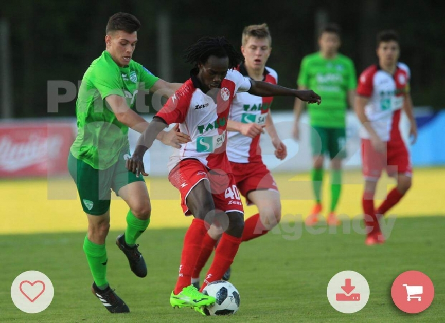 Ibrahim Arafat scores again for NK Aluminij in Slovenia