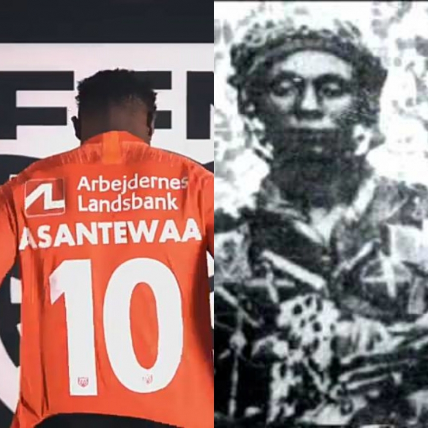 VIDEO: Kudus Mohammed inspires FC Nordsjaelland to celebrate Ashanti Kingdom Greatest Queen mother Yaa Asantewaa in Denmark