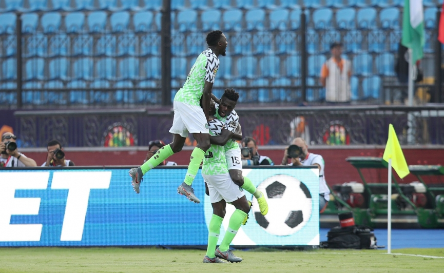 2019 AFCON MATCH REPORT: Nigeria 1-0 Guinea - Kenneth Omeruo strikes to take Nigeria into last 16 despite a game at hand
