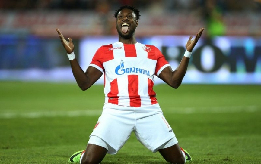 Richmond Boakye Yiadom scores as Red Star Belgrade reach Champions League playoff
