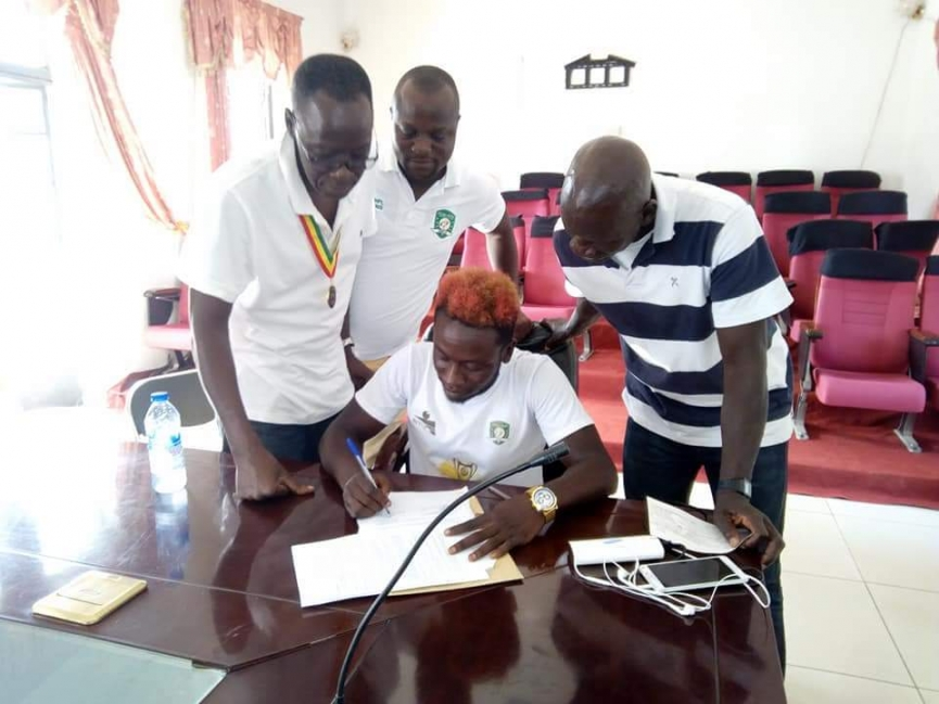 BREAKING: Elvis Opoku signs new three-year deal with Aduana Stars