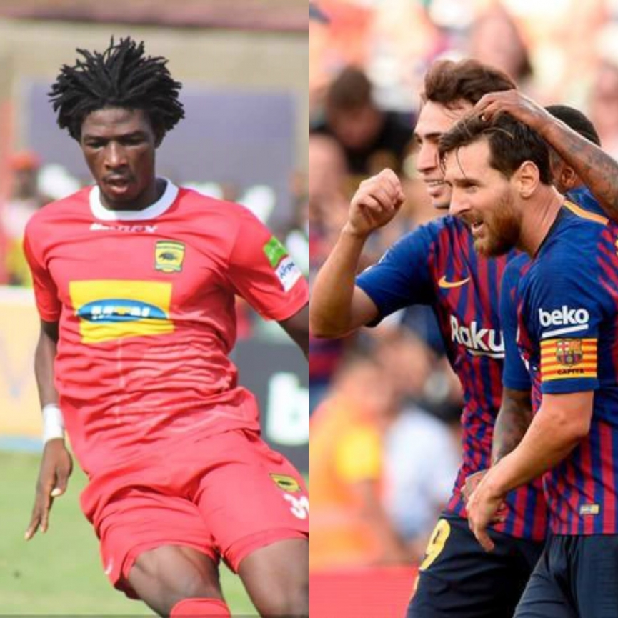 Kotoko confirms an offer to play Barcelona next year