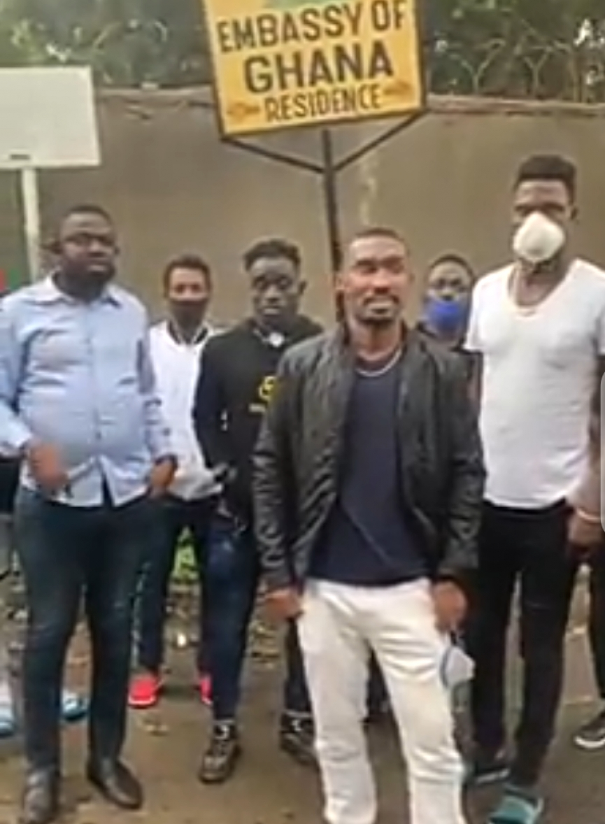 VIDEO: Lee Addy, Muntari Tagoe & other Ghanaian players stranded in Ethiopia cry for help
