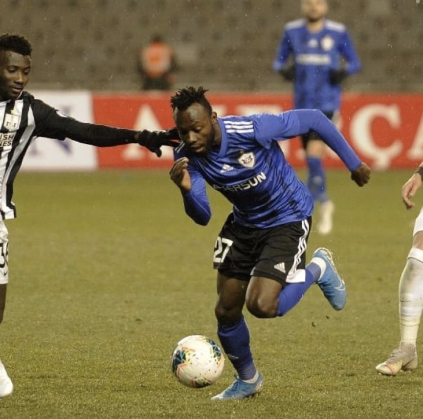 Kwabena Owusu on cloud nine after Qarabag FK debut