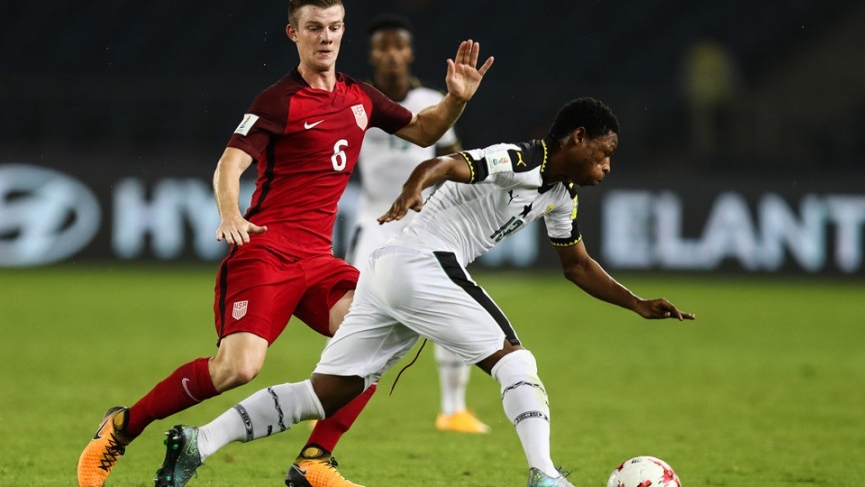 FIFA U17 WORLD CUP: USA beat Ghana to top Group A