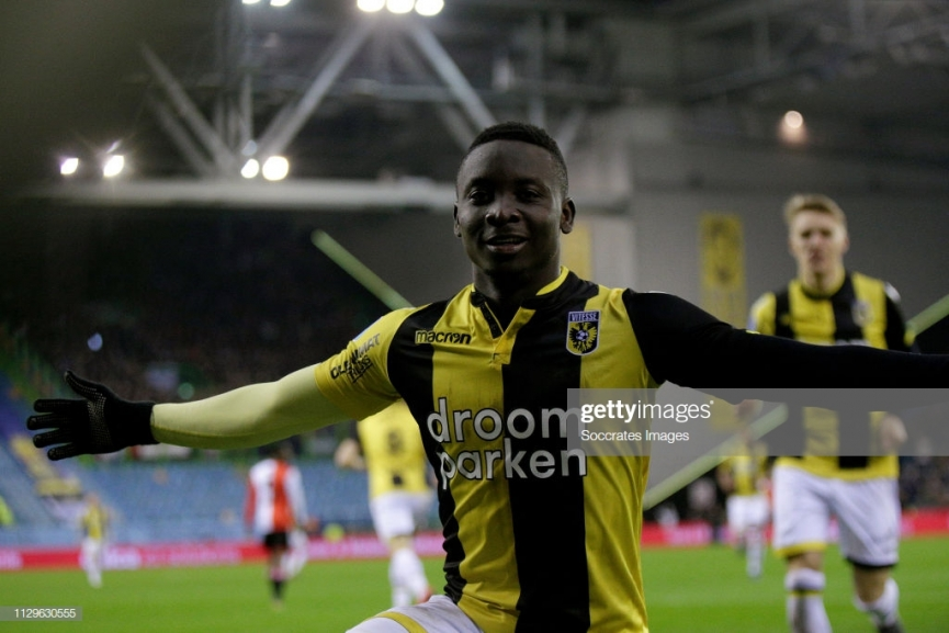Dauda Mohammed scores again to rescue Vitesse Arnhem from home defeat