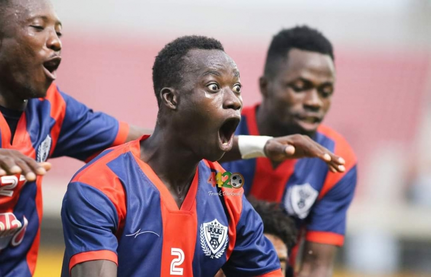 Watch the highlights of Legon Cities 4-1 win over WAFA