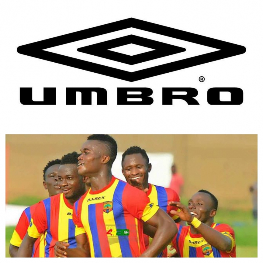 Hearts of Oak secure MEGA kits sponsorship deal from Umbro