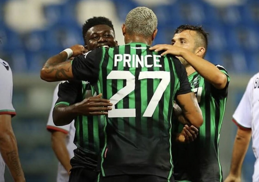 KP Boateng grabs his debut goal for Sassuolo