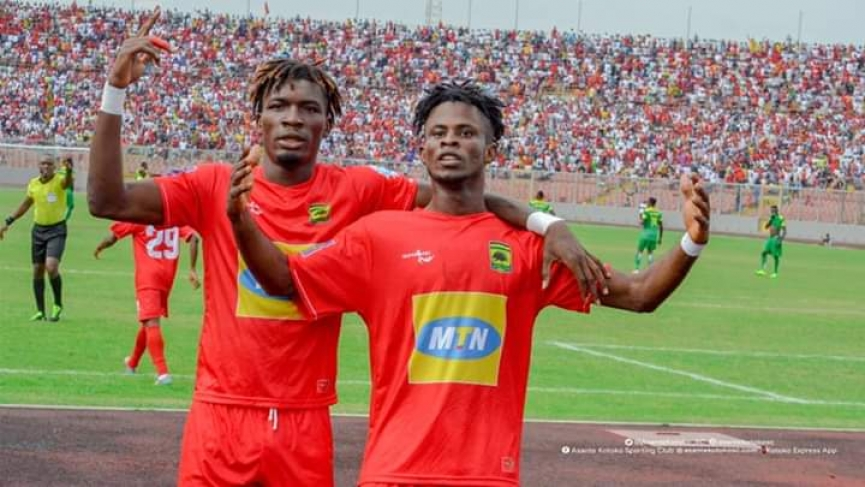 Kelvin Andoh vows to fight for more playing time at Kotoko
