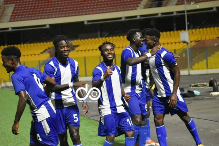 MATCH REPORT: Great Olympics demolish 'toothless' Legon Cities to go top of GPL