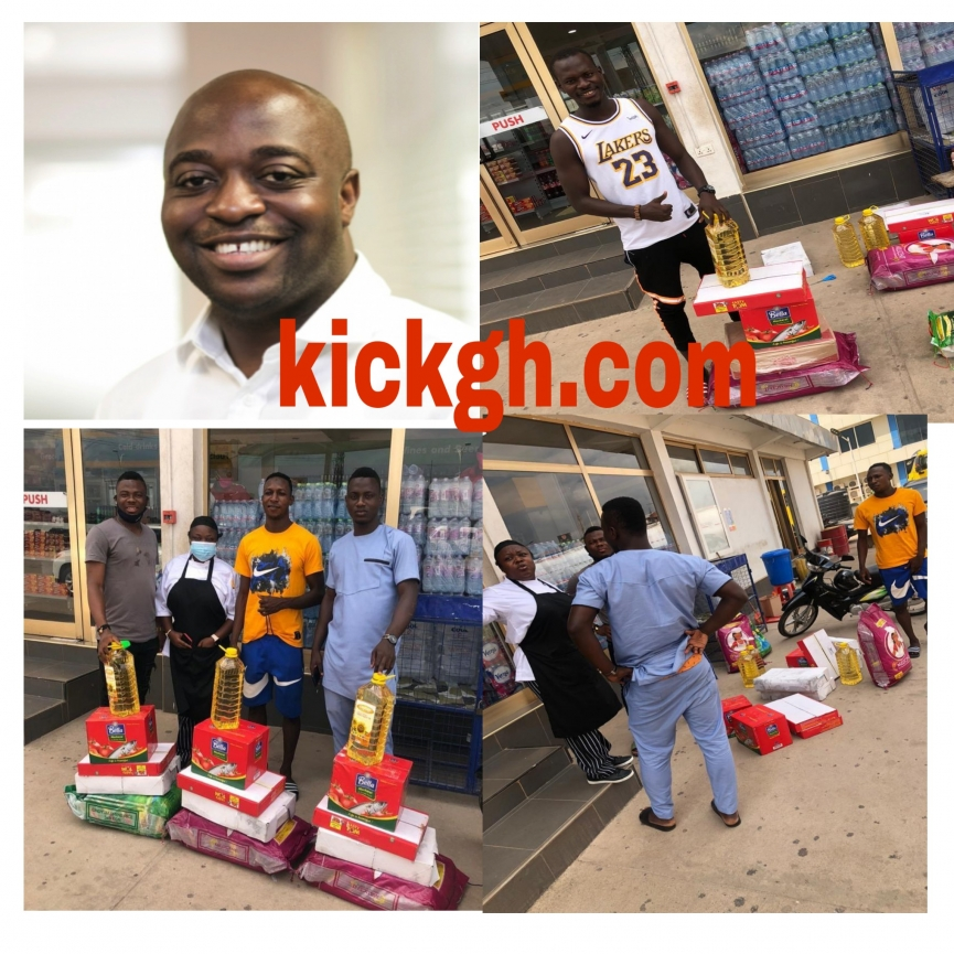 Kotoko Board member Kofi Abban surprises club's Muslim players and officials with gifts ahead of Eid al-Ahda