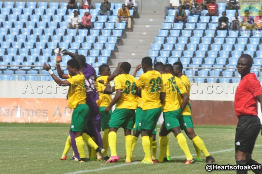 MATCH REPORT: Ebusua Dwarfs 2-1 Liberty Professionals - Dwarfs came from behind to end their winless run