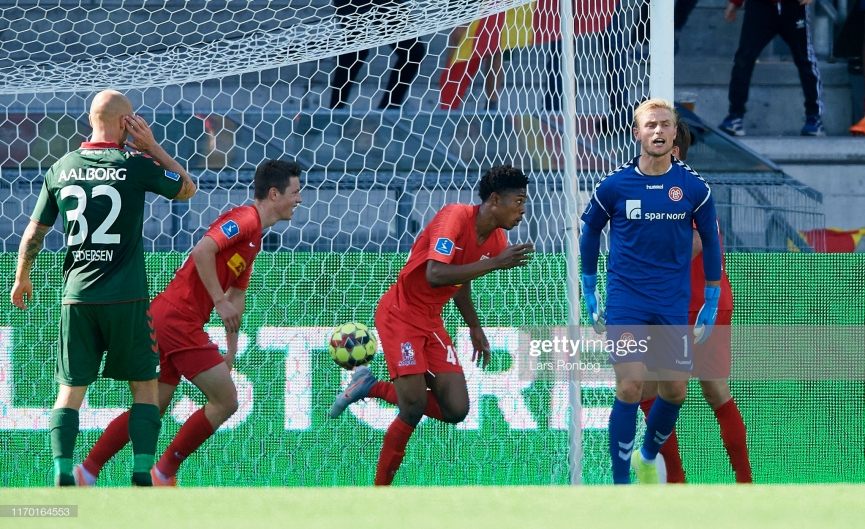 Youngster Abu Francis scores third goal for FC Nordsjaelland