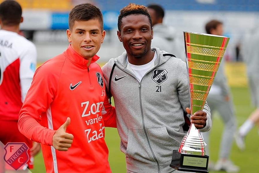 Issah Abass wins first trophy with FC Utrecht
