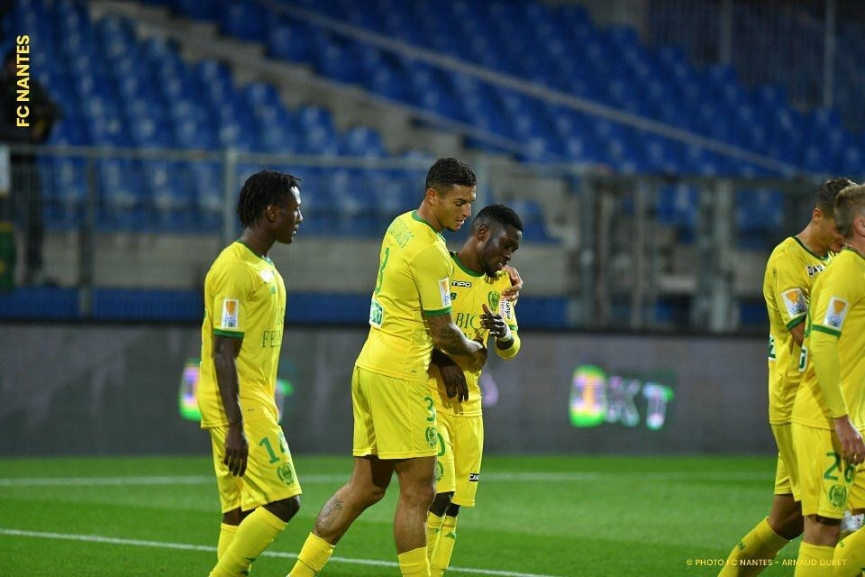 Majeed Waris finally score his first goal for FC Nantes