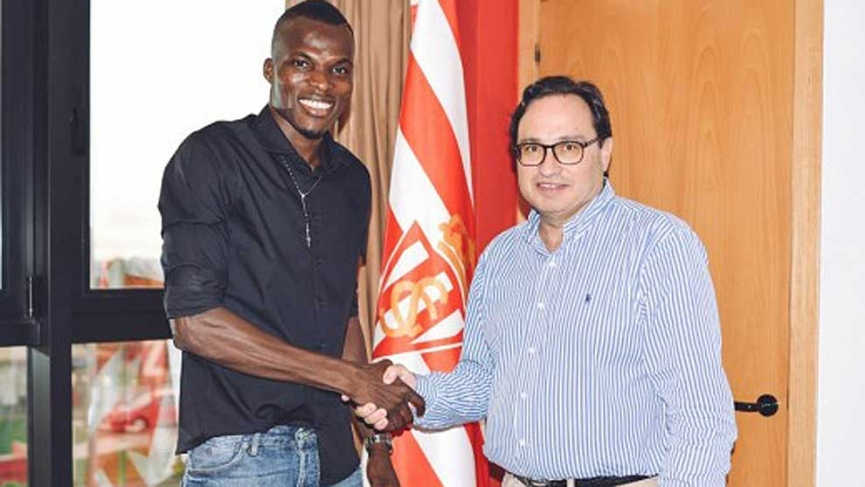 OFFICIAL: Isaac Cofie joins Spanish club Sporting Gijon
