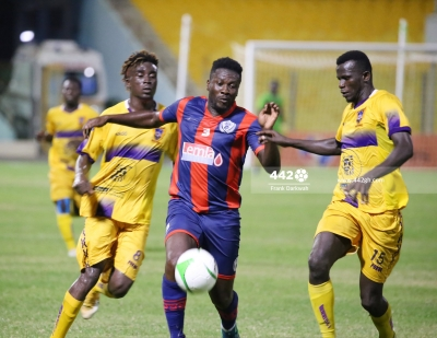 MATCH REPORT: Legon Cities, Medeama winless run continues