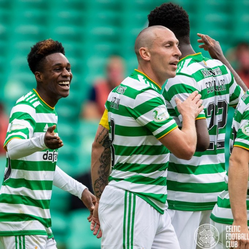 Ghanaian teen Jeremy Frimpong scores first goal of the season for Celtic