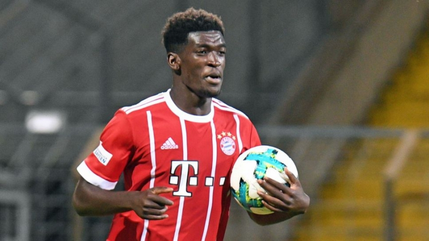 Ghanaian starlet Kwasi Okyere scores his 14th goal of the season for Bayern Munich