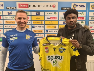 Samuel Tetteh farmed out to SKN St. Polten after unsuccessful spell in MLS