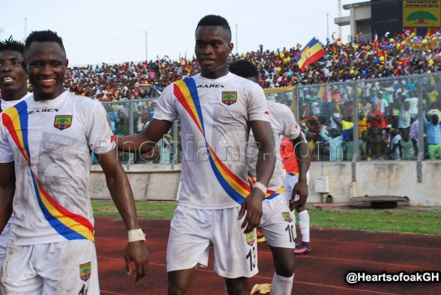 What Hearts of Oak Expect from Kojo Obeng Junior