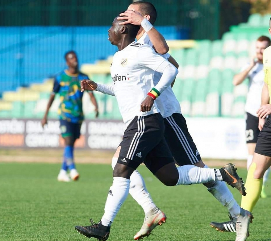 Samuel Owusu scores and provide assist in FK Cukaricki heavy away win