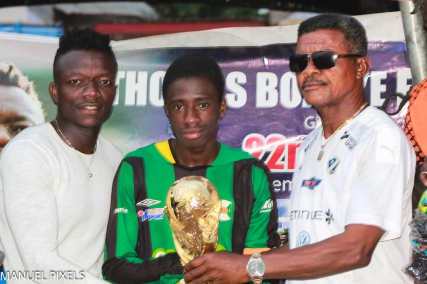 Thomas Boakye hosts 3rd edition of 'Give Back to the Community' tournament in his hometown