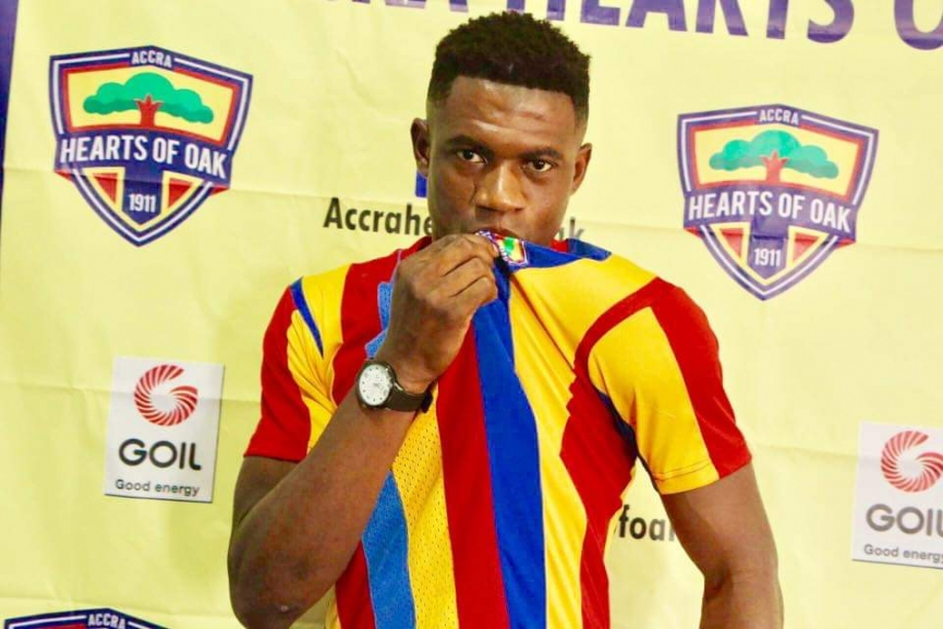 Richmond Ayi Has What It Takes To Thrive At Hearts of Oak