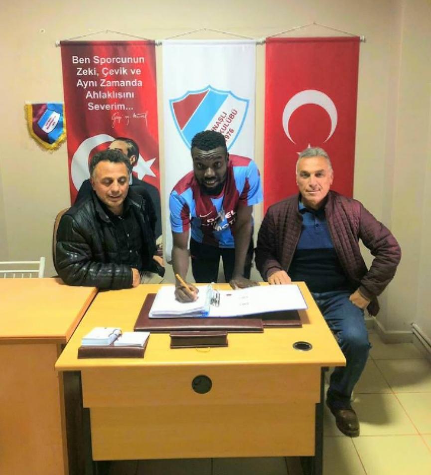 Turkish side Kaynal Belediyespor sign Ghanaian prodigy Gerald Arkson