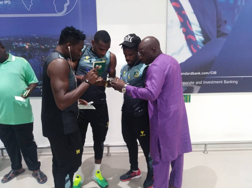 Kano Pillars arrive in Ghana ahead of Kotoko clash