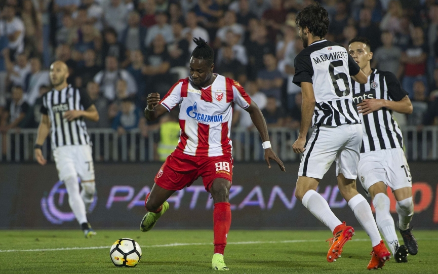 Richmond Boakye Yiadom scores to snatch vital point for Red Star Belgrade