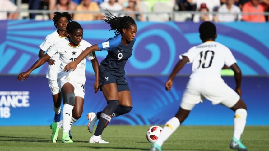 MATCH REPORT: France thrash Black Princesses in World Cup opener
