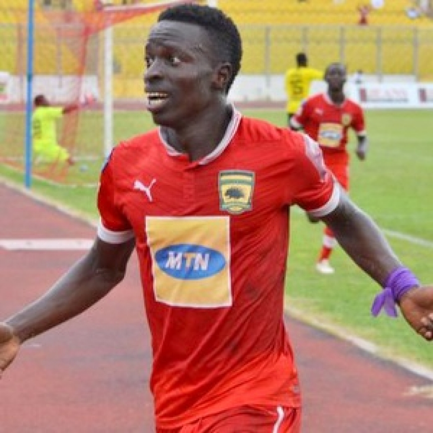 Asante Kotoko reject Sarfo Gyamfi linked with a shock move to Hearts