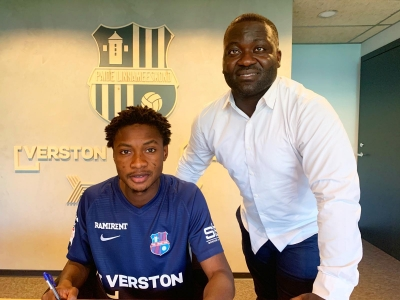 BREAKING: Former Ghana U17 star Abdul Razak Yusif joins Estonia giants Paide Linnameeskond