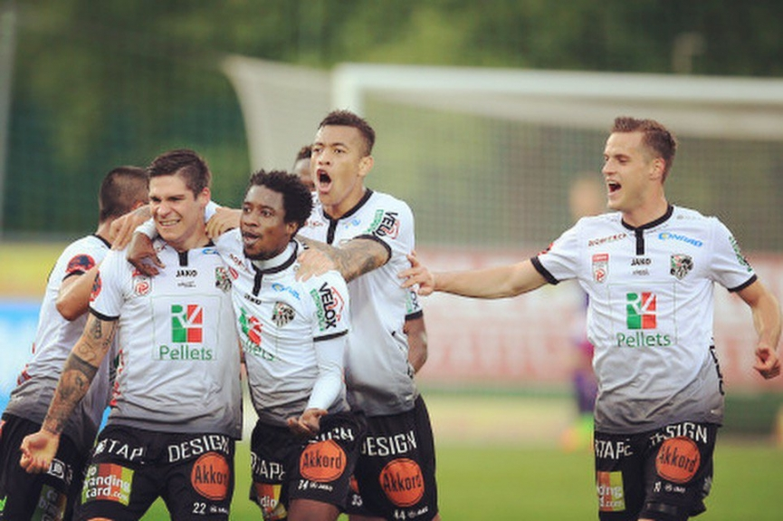Majeed Ashimeru provides assist in Wolfsberger AC home win