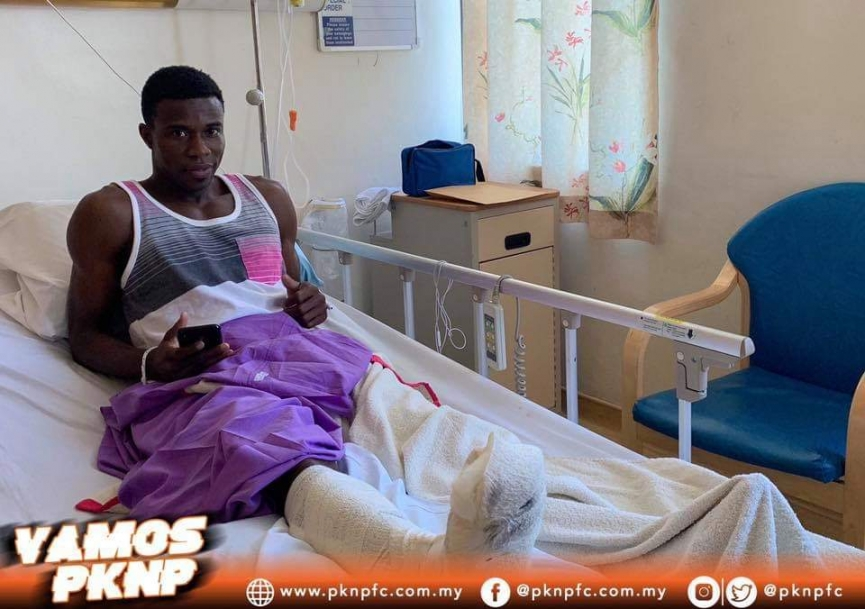 PKNP FC suffer injury blow as Ghana's Thomas Abbey ruled out for 6-8 weeks