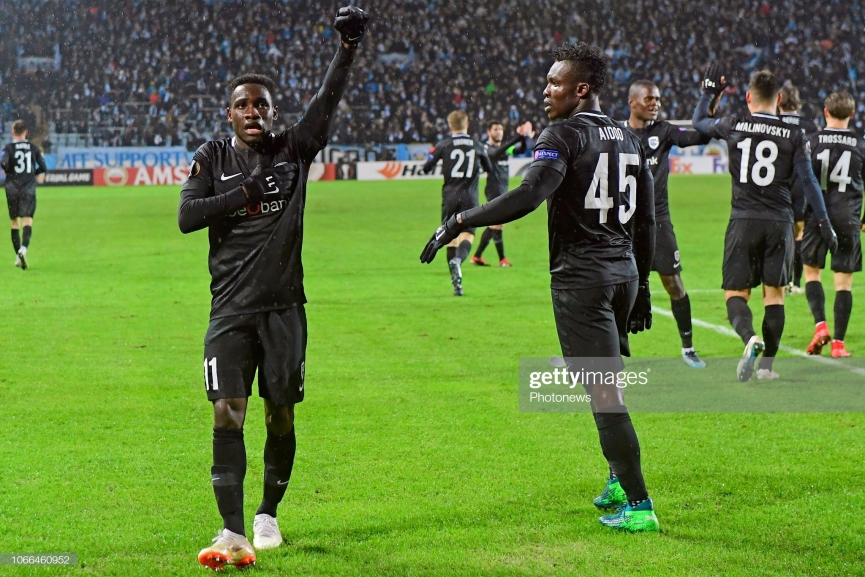 Ghana duo Joseph Paintsil and Joseph Aidoo clinch Belgian league title with KRC Genk