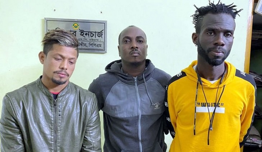 Two Ghanaian footballers arrested in Bangladesh for drug possession