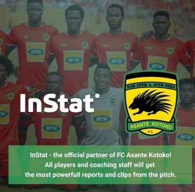 BREAKING: Kotoko sign partnership deal with Russian firm InStat Football