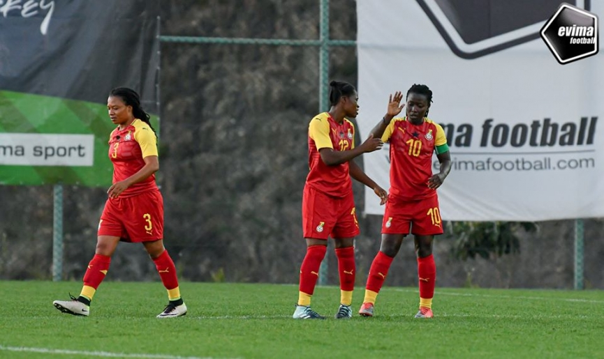 MATCH REPORT: Black Queens whip Kenya to book 2020 Turkish Women's Cup third-place playoff spot