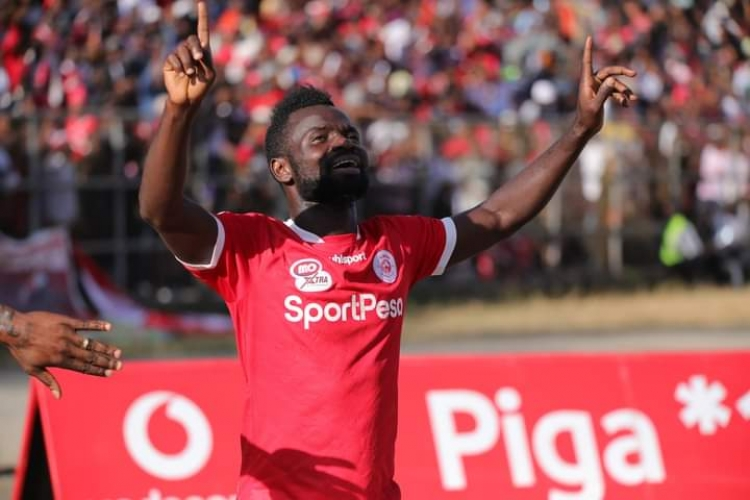 Bernard Morrison scores as Simba SC lift Tanzania Community Shield