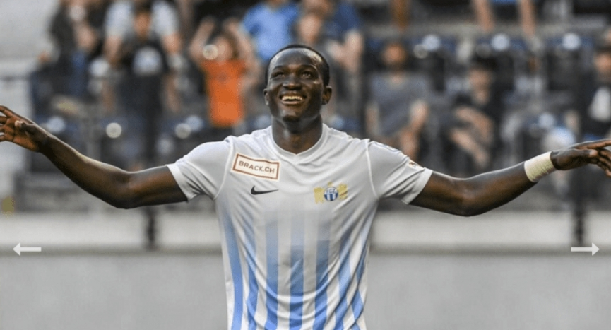 Espanyol and two others battle for Raphael Dwamena