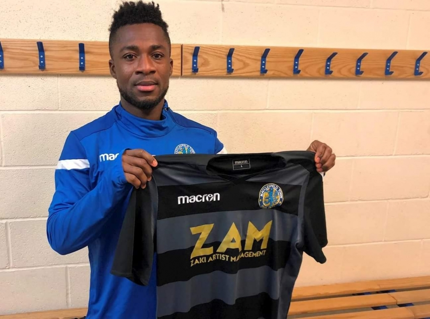 Macclesfield Town sign Ghanaian winger Ebo Andoh